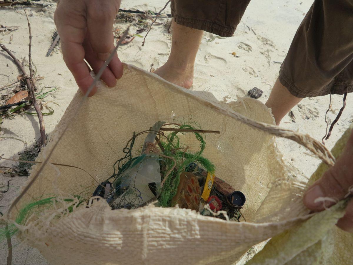 Rubbish plastic